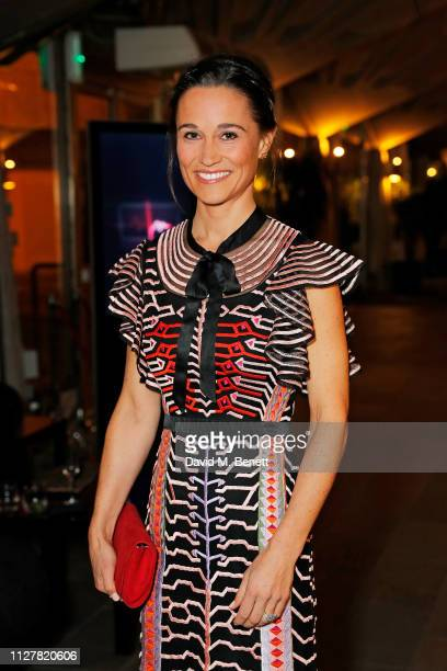 Pippa Middleton attends The Beating Hearts Ball in support of The British Heart Foundation at The Guildhall on February 27 2019 in London England