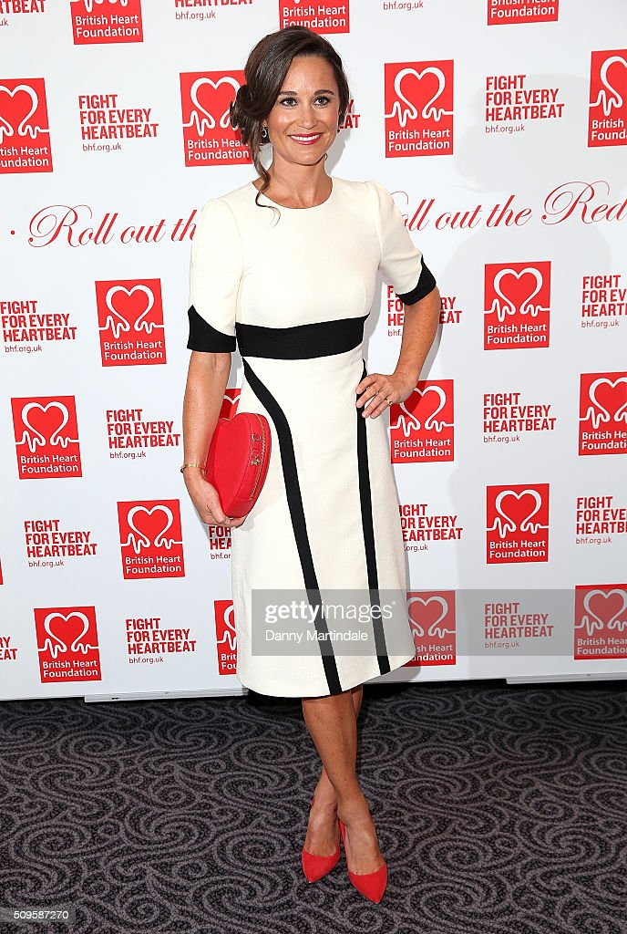 British Heart Foundation: Roll Out The Red Ball : News Photo