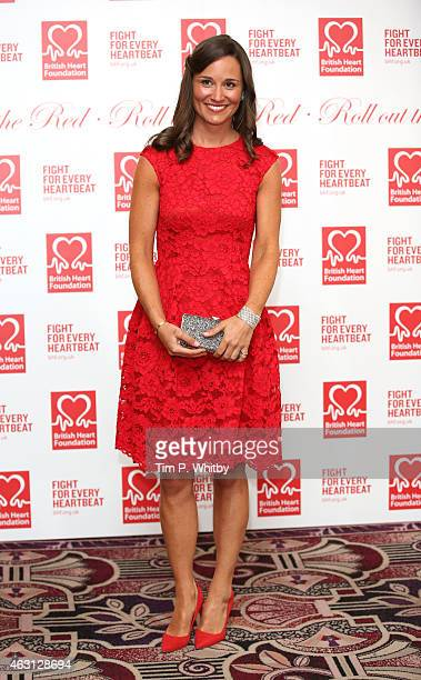 Pippa Middleton attends the British Heart Foundation's Roll Out The Red Ball at Park Lane Hotel on February 10 2015 in London England