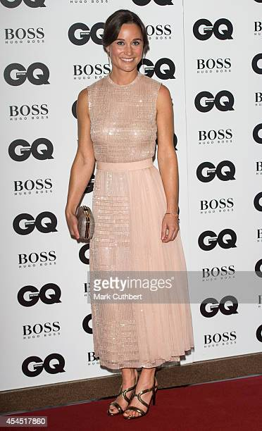 Pippa Middleton attends the GQ Men of the Year awards at The Royal Opera House on September 2 2014 in London England