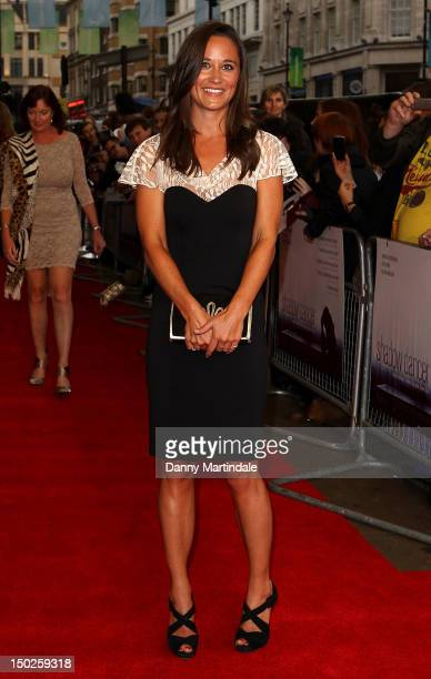 Pippa Middleton attends The UK Film Premiere of Shadow Dancer at Cineworld Haymarket on August 13 2012 in London England