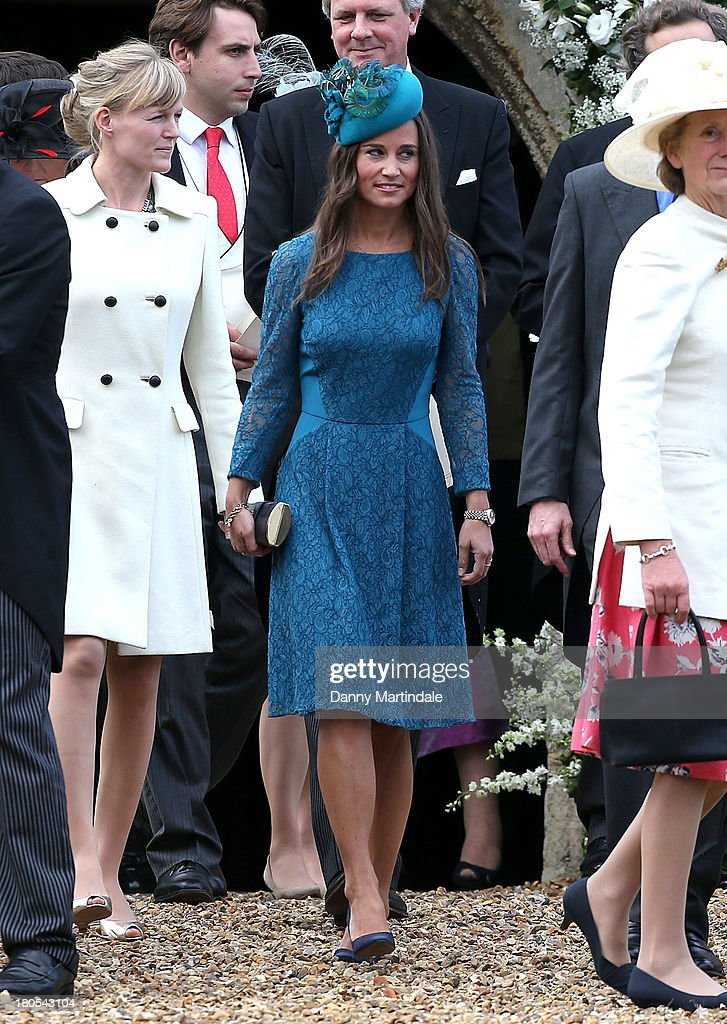 Lady Laura Marsham Marries James Meade : News Photo