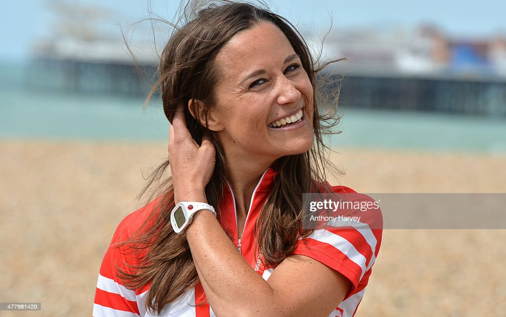 Pippa Middleton Finishes London To Brighton Bike Ride For British Heart Foundation