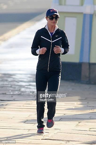 Pippa Middleton is seen jogging on November 30 2012 in London United Kingdom