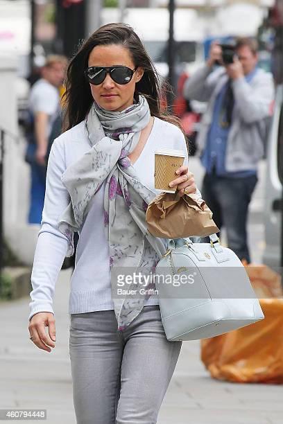 Pippa Middleton is seen on July 10 2012 in London United Kingdom