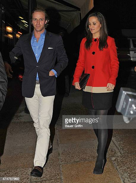 Pippa Middleton is seen on November 01 2012 in London United Kingdom