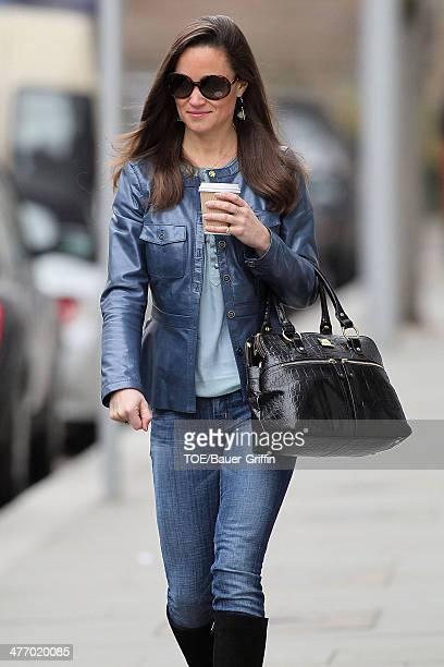 Pippa Middleton is seen on November 15 2012 in London United Kingdom
