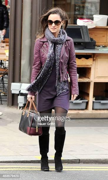 Pippa Middleton is seen on November 22 2012 in London United Kingdom