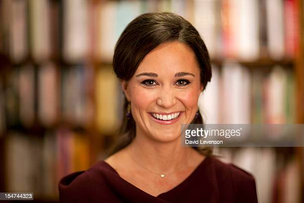 Pippa Middleton launches her new creative entertaining book 'Celebrate' at an afternoon children's party held at Daunt Books Fulham Road on October...