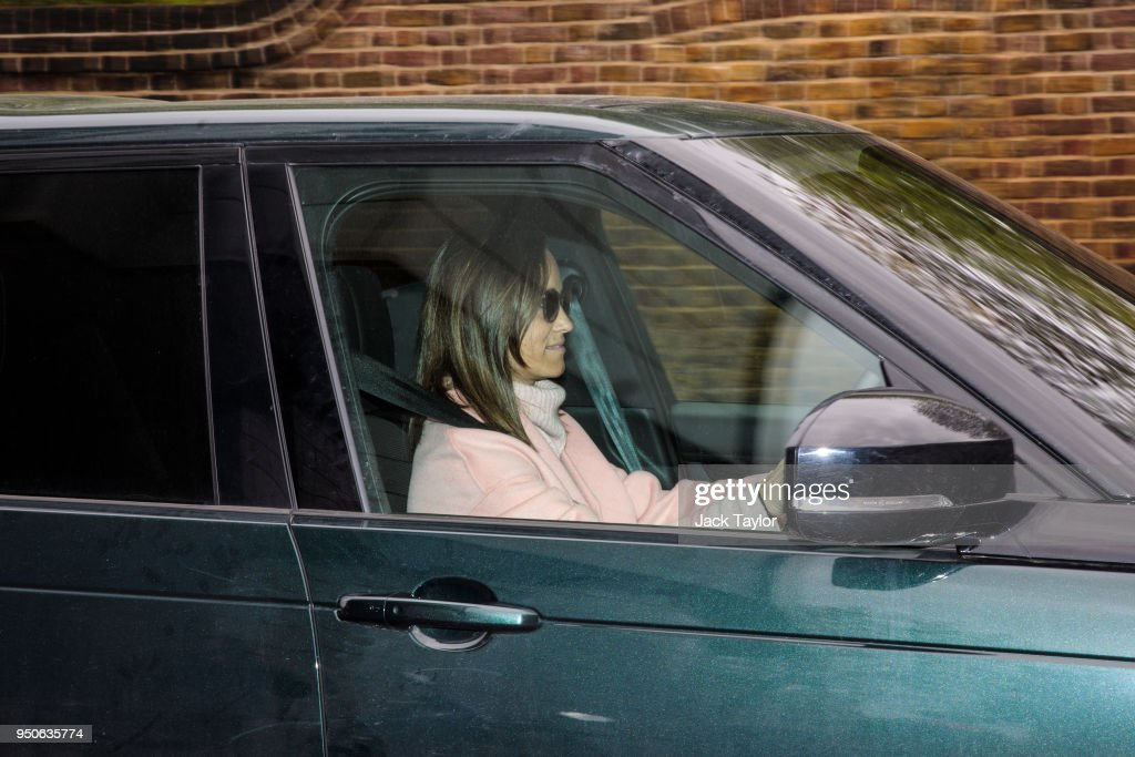 Visitors Arrive To See The New Royal Prince