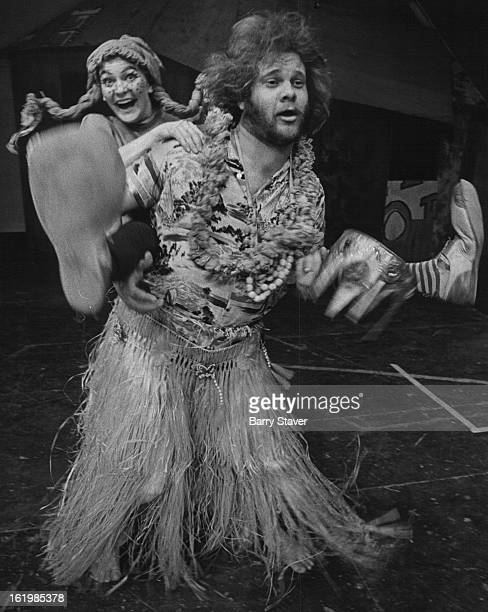 OCT 21 1972 JAN 17 1973 JAN 21 1973 Pippi celebrates her reunion with her father in the play for children 'Pippi Longstocking which is at the Bonfils...