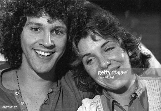 Pippin stars Jill Clayburgh and John Rubenstein during a rehearsal break in August 1972