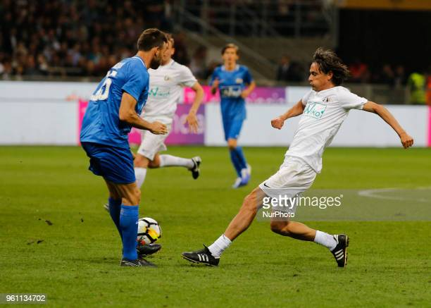 Pippo Inzaghi during La Notte del Maesto the last match of Andrea Pirlo in Milan on May 21 2018