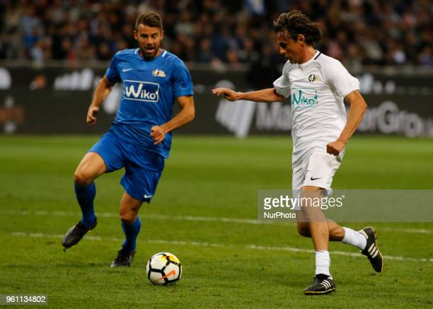 Pippo Inzzaghi during La Notte del Maesto the last match of Andrea Pirlo in Milan on May 21 2018