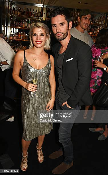 Pips Taylor and JeanBernard FernandezVersini attend as Blakes hotel celebrates the launch of Blakes Below a luxury bar and lounge designed by Anouska...