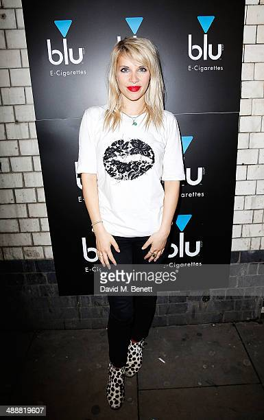Pips Taylor at the official UK launch of blu eCigs the premier global electronic cigarette and the start of the brand's forthcoming UK music tour at...