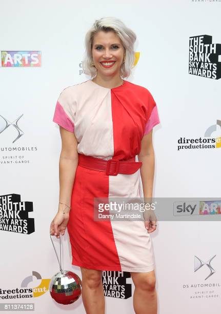 Pips Taylor attending The Southbank Sky Arts Awards 2017 at The Savoy Hotel on July 9 2017 in London England