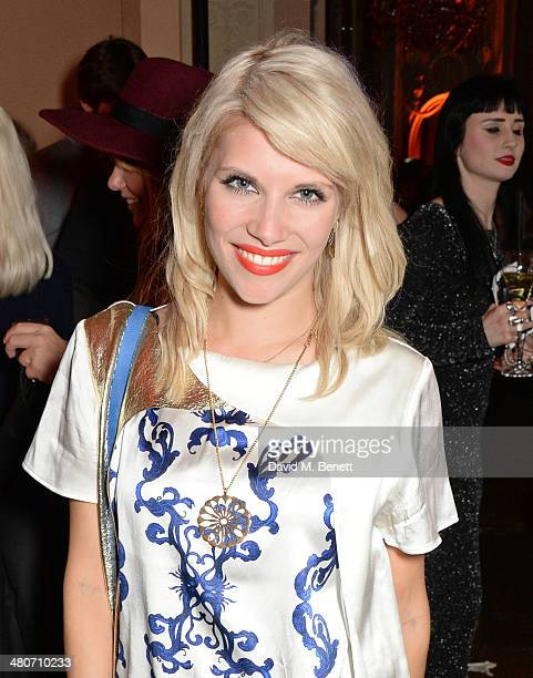 Pips Taylor attends a party to celebrate 25 years of Magnum at Home House on March 26 2014 in London England