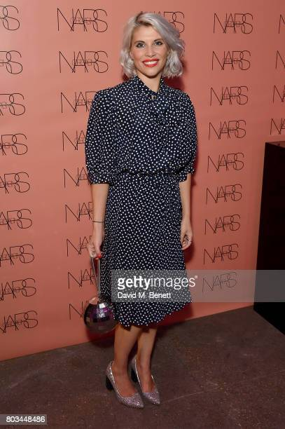 Pips Taylor attends cosmetics brand NARs summer party alongside VIP friends and fans of the brand at Protein on June 29 2017 in London England