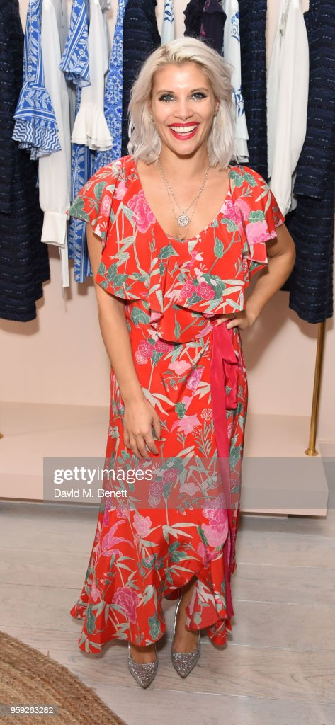 Pips Taylor attends the Beulah London store opening on May 16, 2018 in London, England.