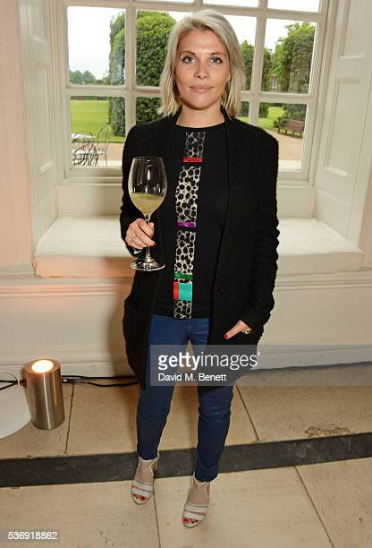 Pips Taylor attends the launch of British fashion brand Sienna Jones' debut collection 'The Marina Range' at The Orangery, Kensington Palace, on June...