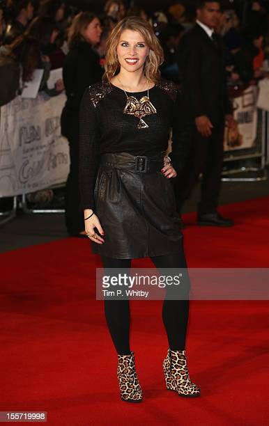 Pips Taylor attends the World Premiere of Gambit at Empire Leicester Square on November 7 2012 in London England