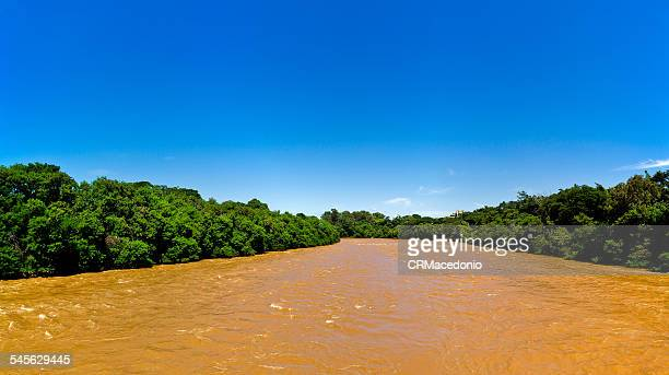 piracicaba river - crmacedonio stock-fotos und bilder