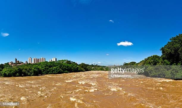 piracicaba river - crmacedonio stock-fotos und bilder