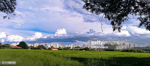piracicaba´s landscape - crmacedonio stock photos and pictures