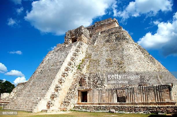 piramide del adivino - unesco stock-fotos und bilder