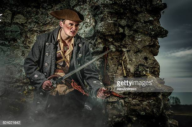pirate captain - pirate criminal stock pictures, royalty-free photos & images