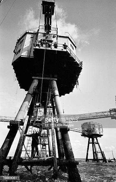 Pirate Radio 'Radio City' En juin 1966 au RoyaumeUni dans les eaux internationales de l'estuaire de la Tamise la radio pirate offshore 'RADIO CITY'...