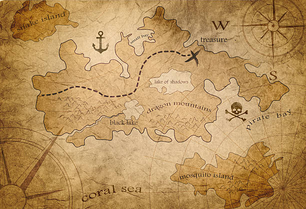 Free old map background images pictures and royalty free stock old world map illustration pirate treasure map gumiabroncs Images