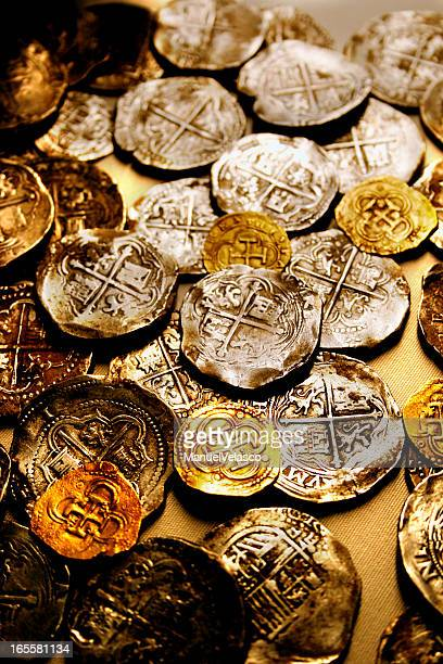 pirate treasure - spanish culture stock photos and pictures