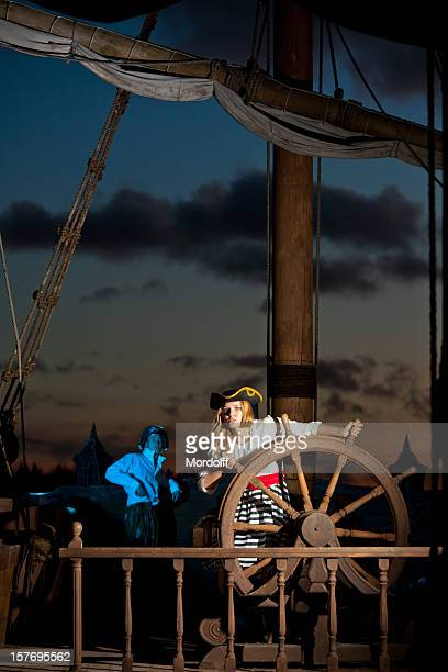 Pirates au capitaine roue