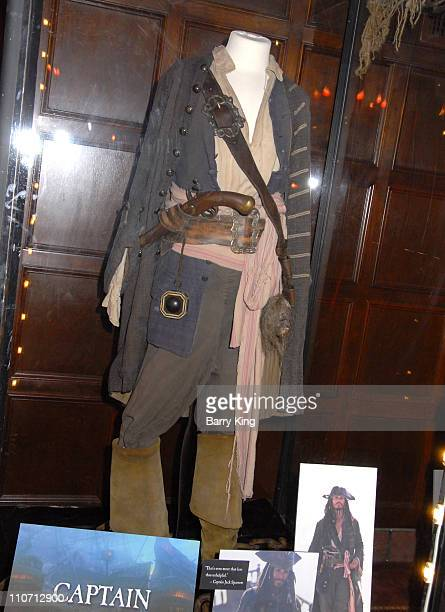 At World's End Costume worn by Johnny Depp