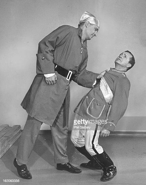 MAY 8 1965 JUN 2 1965 JUN 9 1965 'Pirates Set for 3 Shows McKee Frazer left is the menacing pirate king and Louis DePaemelere his hapless victim in...