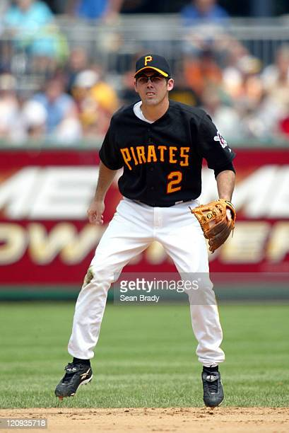 Pirates Shortstop Jack Wilson against Pittsburgh at PNC Park Pittsburgh Pennsylvania July 18 2004