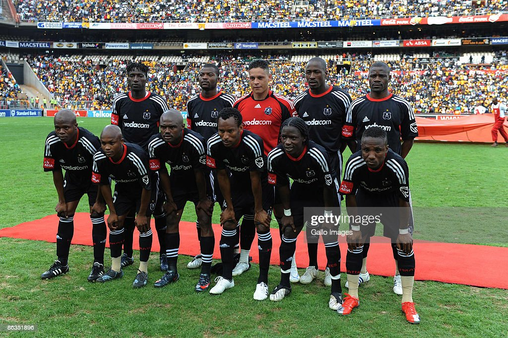 Pirates Team Photo During The Absa Premiership Match Between Orlando Pirates And Kaizer Chiefs From Coca