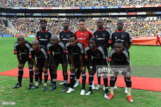 Pirates team photo during the Absa Premiership match between Orlando Pirates and Kaizer Chiefs from Coca Cola Park on May 2, 2009 in Johannesburg,...