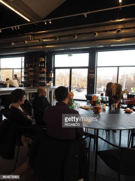 Pirelli Hangar Bicocca Foundation dynamic center for art experimentation Via Chiese street Milan Lombardy Italy Europe
