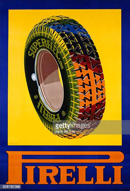 Pirelli Poster by Renzo Bassi