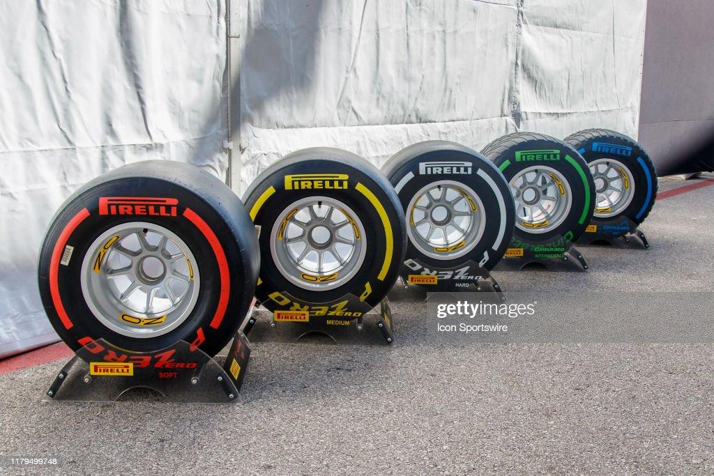 AUTO: NOV 02 F1 - United States Grand Prix : News Photo