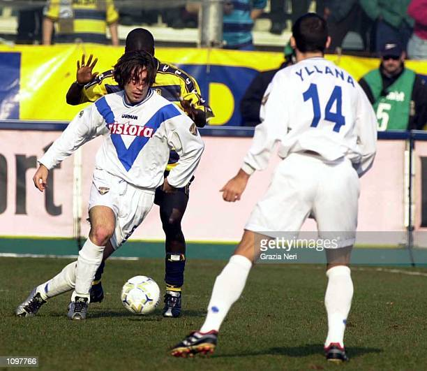 Pirlo of Brescia in action during the SERIE A 19th Round League match between Parma and Brescia played at the Ennio Tardini Stadium Parma Massimo...