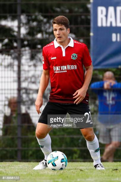Pirmin Schwegler of Hannover 96 during the preseason friendly match between HSC Hannover and Hannover 96 at HSCStadion on July 2 2017 in Hanover...