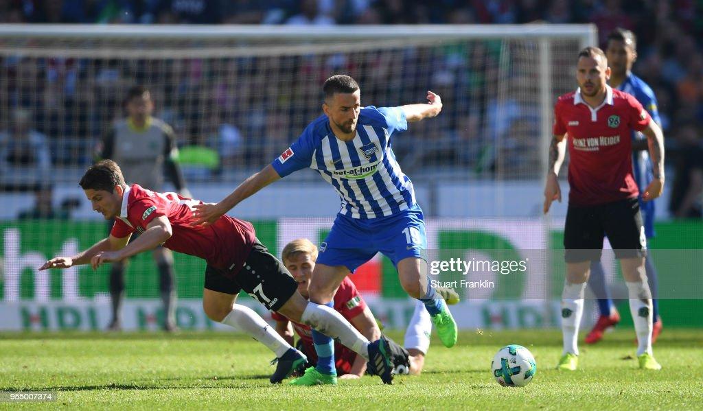 Hannover 96 v Hertha BSC - Bundesliga : Nachrichtenfoto