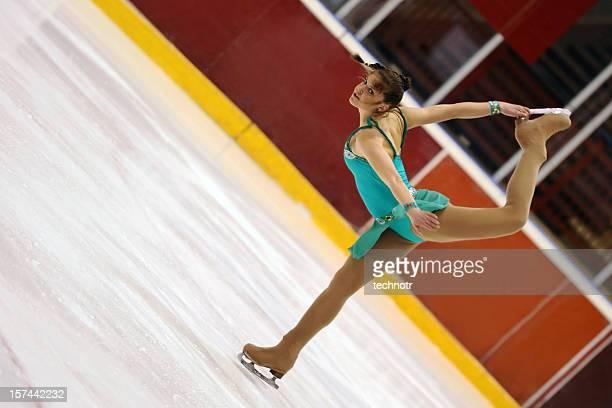 pirueta - patinação artística - fotografias e filmes do acervo