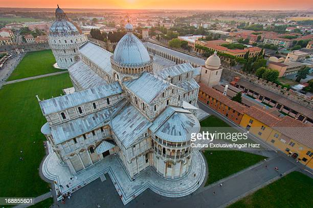 pisa cathedral, pisa, tuscany, italy - pisa stock pictures, royalty-free photos & images