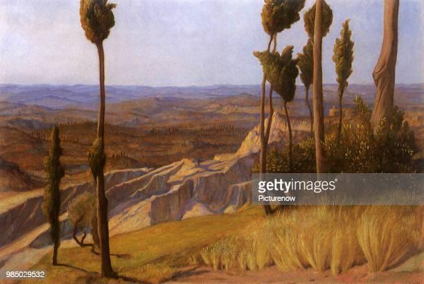 Pisan Plain from Volterra Richmond Sir William Blake