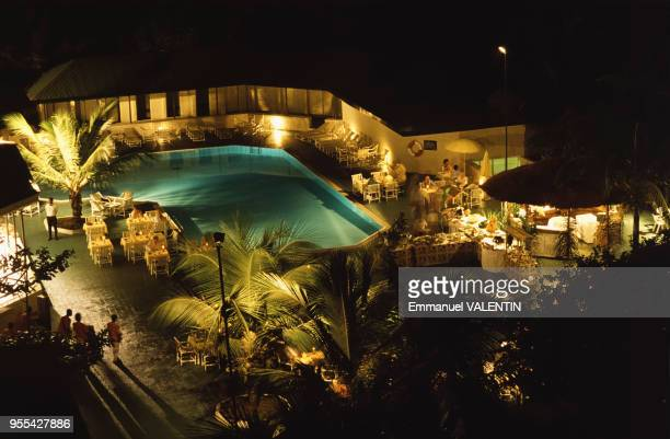 Piscine de l'hôtel Radisson Blu Mammy Yoko à Freetown Sierra Leone
